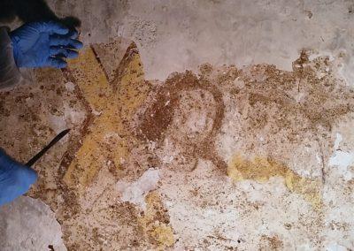 (France - 66) étude préalable de l'ange à la croix