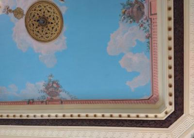 Détail du plafond terminé
